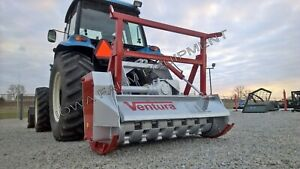 Details about Severe Duty Forestry Mulcher,Tractor 3-Point: Ventura  TFVJ-150, 60