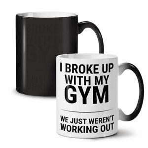 Sarcastic Gym Funny NEW Colour Changing Tea Coffee Mug 11 oz | Wellcoda