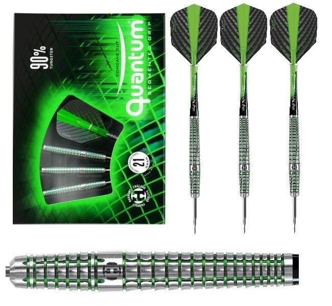Harrows Dart - Quantum 90% Tungsten Segmented Grip 23g (Steel Dart) NEU OVP