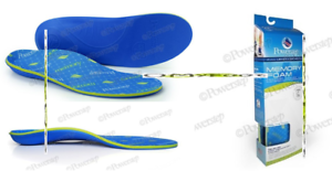 Powerstep Memory Foam Orthotics Insoles Size A Shoe Size Men 4 4.5 Women 6 6.5