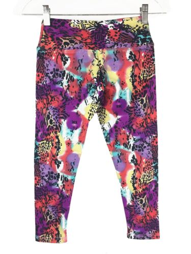 Compression Leggings Womens Brazilian Capri Gym Sport Pants XS-Small-Medium