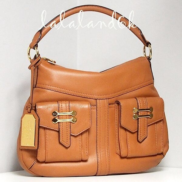 f6c6e4054e Ralph Lauren Bermondsey Tan Leather Zip Hobo Shoulder Bag Handbag for sale  online