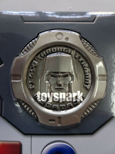 EXCLUSIVE COIN for Takara Tomy Transformers Masterpiece MP-36 Megatron g1