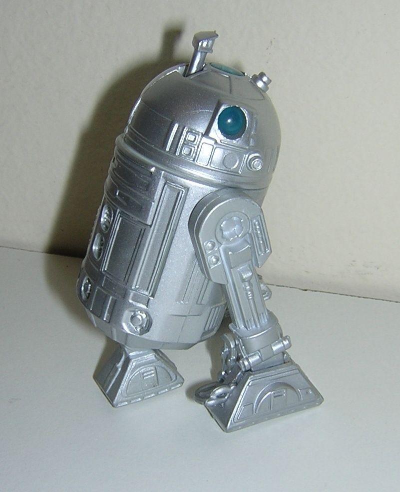 genuina alta calidad Estrella Wars Wars Wars Suelto R2-D2 Plata Regalo Paquete Reino Unido Woolworths exclusivo Súper Rara   ahorrar en el despacho