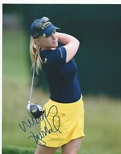 Morgan Pressel Signed Autographed 8x10 photo Multiple Available
