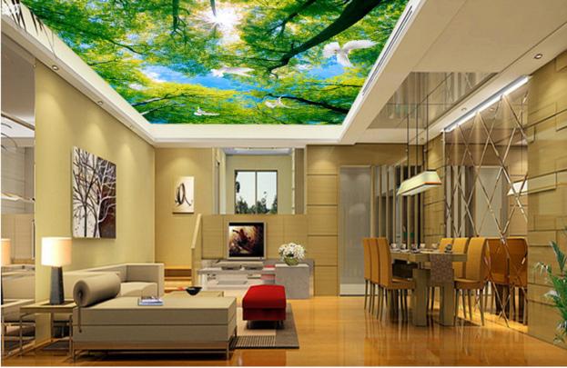 3D Grüner Wald 43 Fototapeten Wandbild Fototapete BildTapete Familie DE