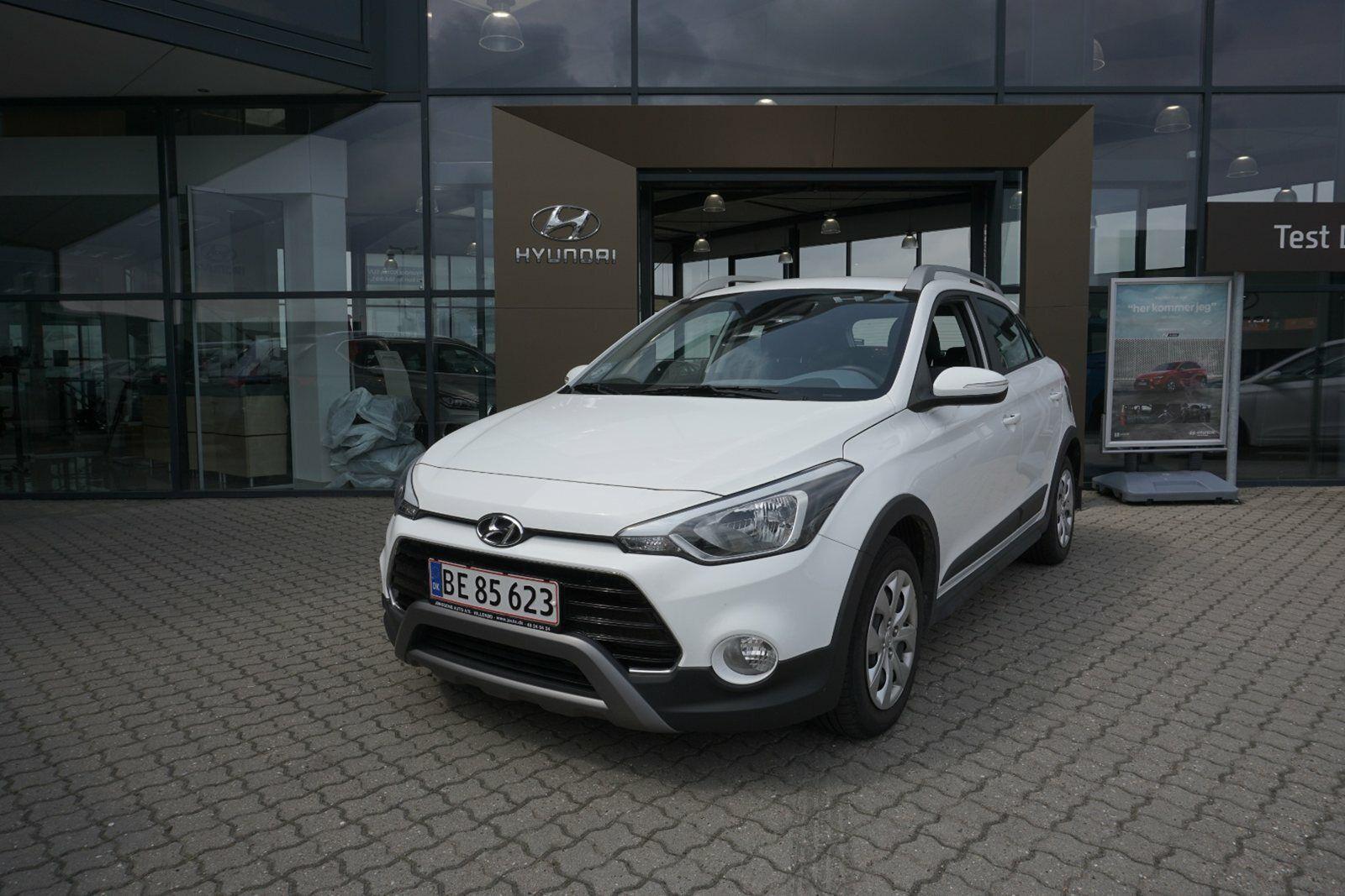 Hyundai i20 Active Cross 1,4 CRDi 90 Life+ 5d - 134.800 kr.