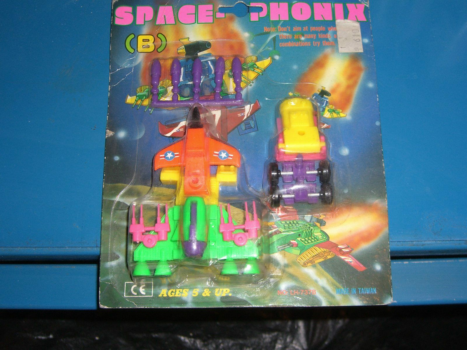 80'S VINTAGE ROBOT SPACE PHONIX MULTI JOINER MOC TAIWAN
