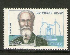 TIMBRE-3975-NEUF-XX-LUXE-HENRI-MOISSAN-PRIX-NOBEL-DE-CHIMIE-EN-1906