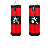 Punching Bag With Chains Sparring Mma Boxing Training Heavy (empty) Two Choices