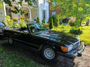 Beautiful 1982 Mercedes 380 SL