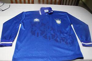 Camiseta-VINTAGE-DE-SELECCION-BRASIL-UMBRO-DE-1-994-TALLA-L-MUY-ANTIGUA-SHIRT