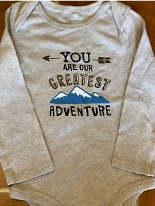 Baby Boy Clothes One Piece 18 24 Months You Are Our Greatest Adventure Ebay