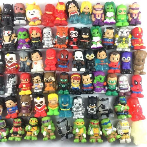 "Random 10pcs toy Ooshies Pencil toppers DC Comics//Marvel Heroes//TMNT 1.5/"" Figure"