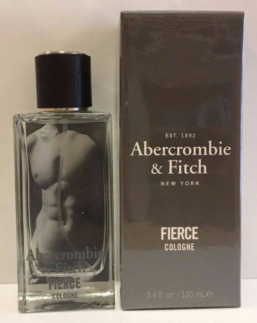 Abercrombie & Fitch Fierce Cologne 3.4 oz / 100ml Brand New Sealed