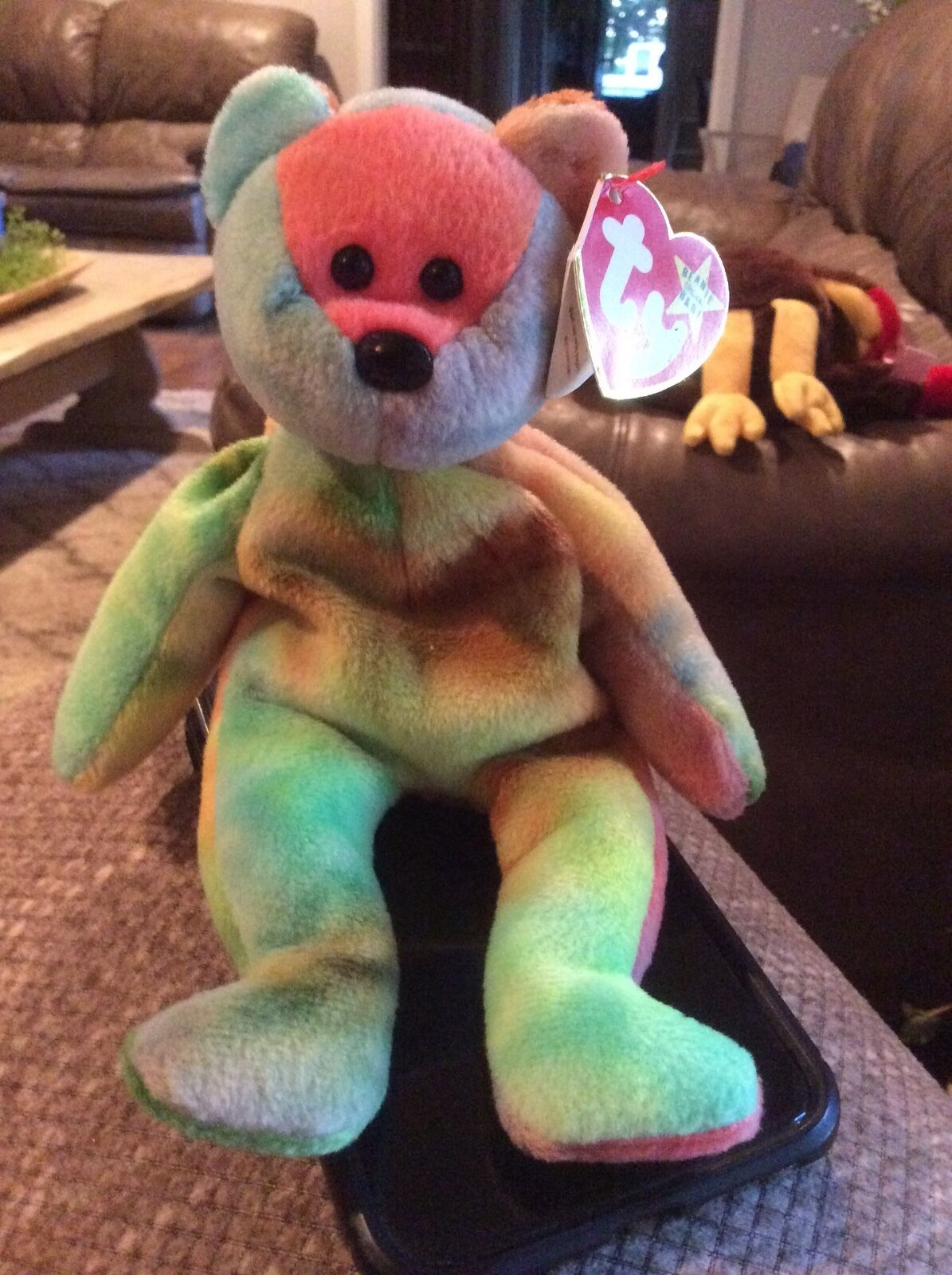 Ty beanie baby Very Rare GARCIA with with with multiple errors collectible Mint 91b276