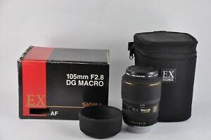 Sigma-105mm-DG-EX-F2-8-Macro-Micro-Lens-FOR-Nikon-D700-D3-D3S-F6-F4-F5-D80-D90