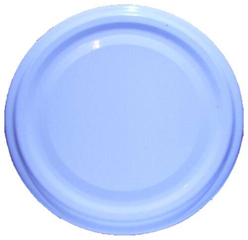 200 Stück X To 53 mm Weiß Schraubdeckel für Gläser • Twist Off Deckel Verschluss