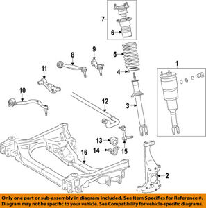image is loading lexus-toyota-oem-13-17-ls460-lower-control-