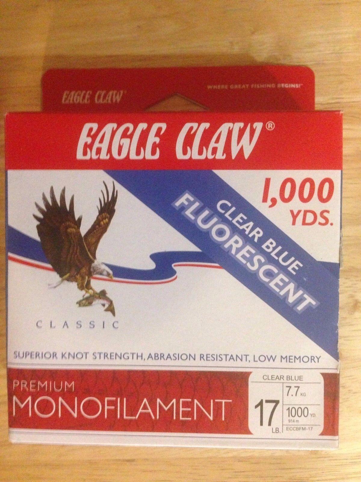 Eagle Claw 17# Premium Monofilament Line 1000 yards