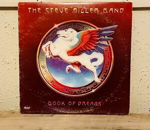 Steve Miller Band - Book Of Dreams LP 1977 Capitol Records R 114443 VG+