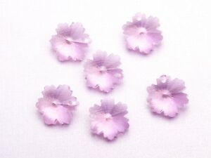 10pcs-14mm-Snowflake-Loose-Faceted-Crystal-Glass-Pendant-Craft-Beads-Pink