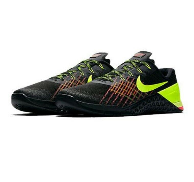 Nike METCON 3 CROSSFIT Shoes Volt/Hyper Men's 852928-012 Black / Volt/Hyper Shoes c0ace0