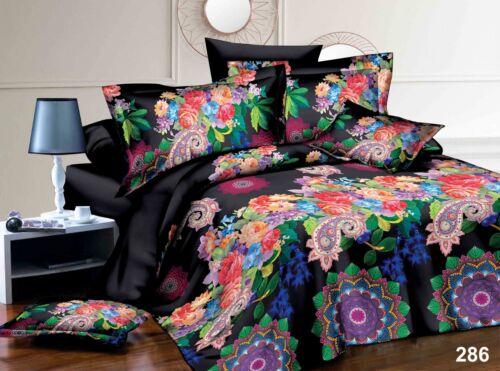 3D Images Bedding Set Duvet Set 1 Quilt Cover 1 Fitted Sheet 2 Pillow case