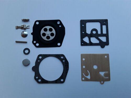 conjunto reparación adecuado Husqvarna 242xp 246 42 Carburador membrana nuevo walbro