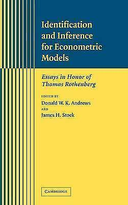 Identification and Inference for Econometric Models: Essays in Honor of Thomas R