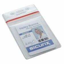 Sicurix Bau 47840 Id Badge Holderverticalpk50