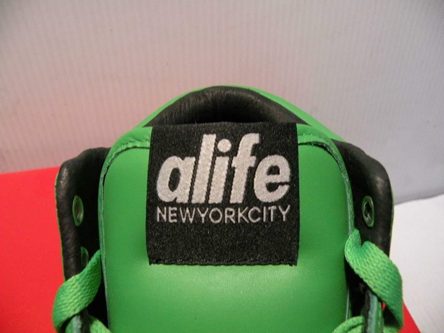 ALIFE EVERYBODY MID MID MID PRO LEATHER baskets femmes chaussures vert S91EVHMP Taille 8.5 NEW 017c24