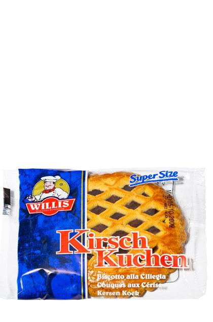 (5,41€/kg) Willis Kirschkuchen 24x 100g