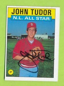 1986-Topps-Autographed-Card-John-Tudor-NL-All-Star-710-St-Louis-Cardinals