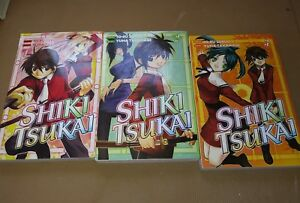 Shiki-Tsukai-Manga-Graphic-Novel-in-English-1-3-Del-Rey-Books-Freeshipping