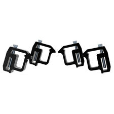 4xtruck Cap Topper Camper Shell Mounting Clamps Heavy Duty Replaces Tl2002 Black Fits Tacoma