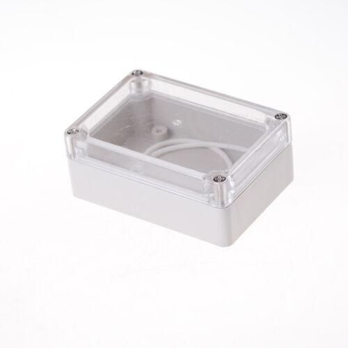 Wasserdichtes Klarsichtdeckel Elektronisches Kabel Projekt Box Gehäuse wgHLDE