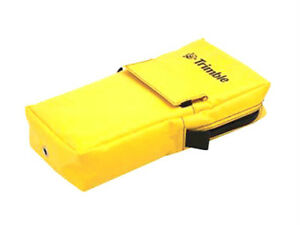 Trimble-TSC3-TSC2-Data-Collector-Yellow-Bag-Case-Nylon-Belt-Loop-Front-Pouch-GPS