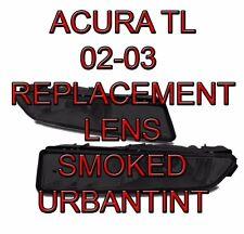 02 03 ACURA TL TL type S SMOKED Fog Light Lens replacment foglight lenses A PAIR
