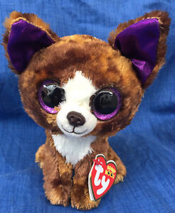 72db6db99a5 w-f-l Ty Beanie Boos Dexter Dog Chihuahua 5 7 8in Glubschi Boo ´s ...