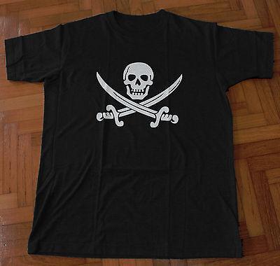 Pirate Skull Skull Pirate Jersey Long Sleeve Rising Sun