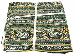 Les-Olivades-FRENCH-Country-Paisley-FABRIC-Upholstery-Tablecloth-Pillowcases