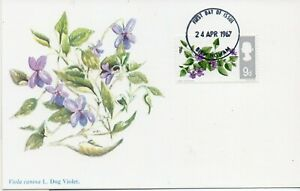 1967 Flowers set of 6 Maxi Cards with Birmingham cancel