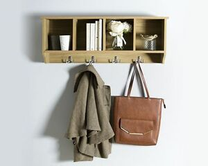 sports shoes 36f45 81acf Details about New Kempton Design Hallway Wall Rack Available in 3 Colours