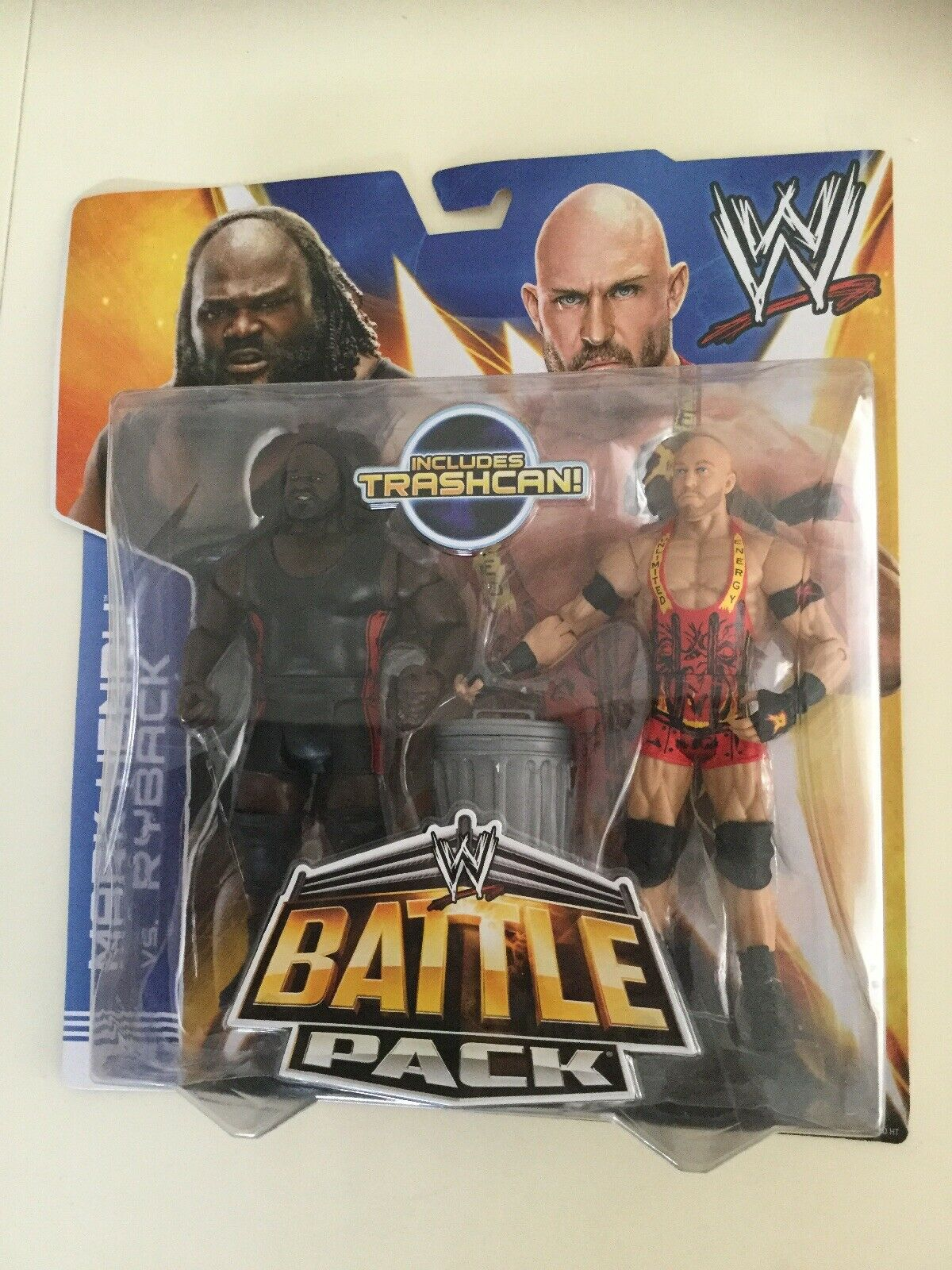 WWE MATTEL Mark Henry & Ryback battaglia Pack Nuovo di Zecca