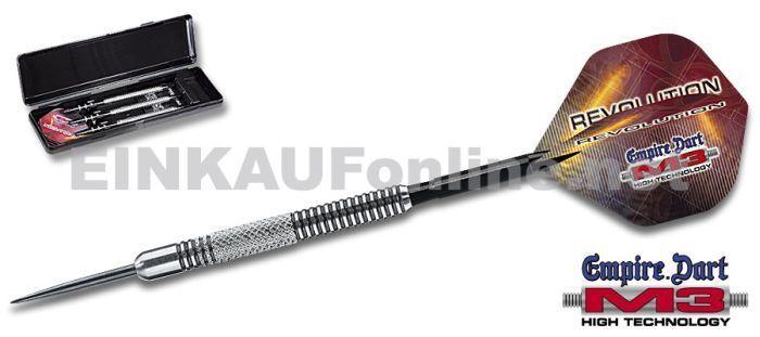 M3 M3 M3 Steel Dart Darts Dartpfeile M3darts Pfeile Dartsatz Revolution 24 gr 29L097 5bb075