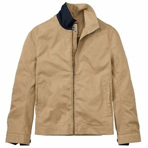 Metro Actual Casi  NWT Timberland Men's Stratham Bomber Jacket Classic Cotton Twill A1JCH All  Sizes | eBay