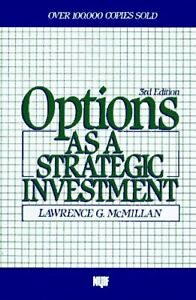 Options as a strategic investment lawrence g mcmillan kindle