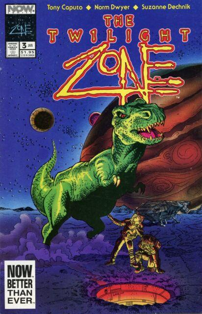 "1991 THE TWILIGHT ZONE VOL.2  #3 ( TITLED  "" BIG SHOT "" ) NOW COMICS VF+"