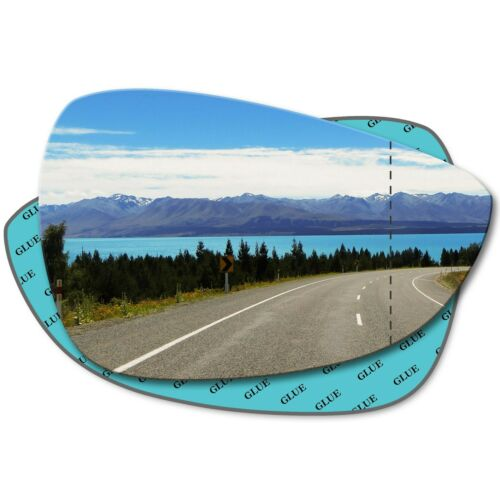 Right Driver Side Wide Angle Mirror Glass for Ford Fiesta 2009-2017 0300RAS